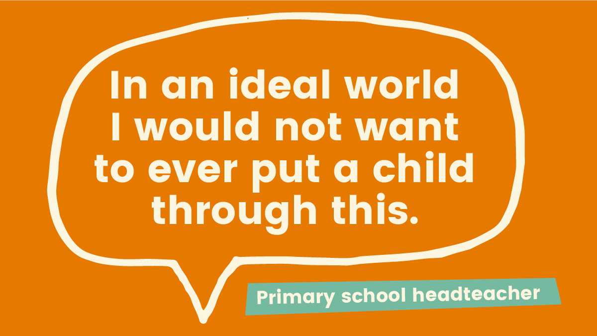 Primary heads condemn the negative effects of SATs across all school years