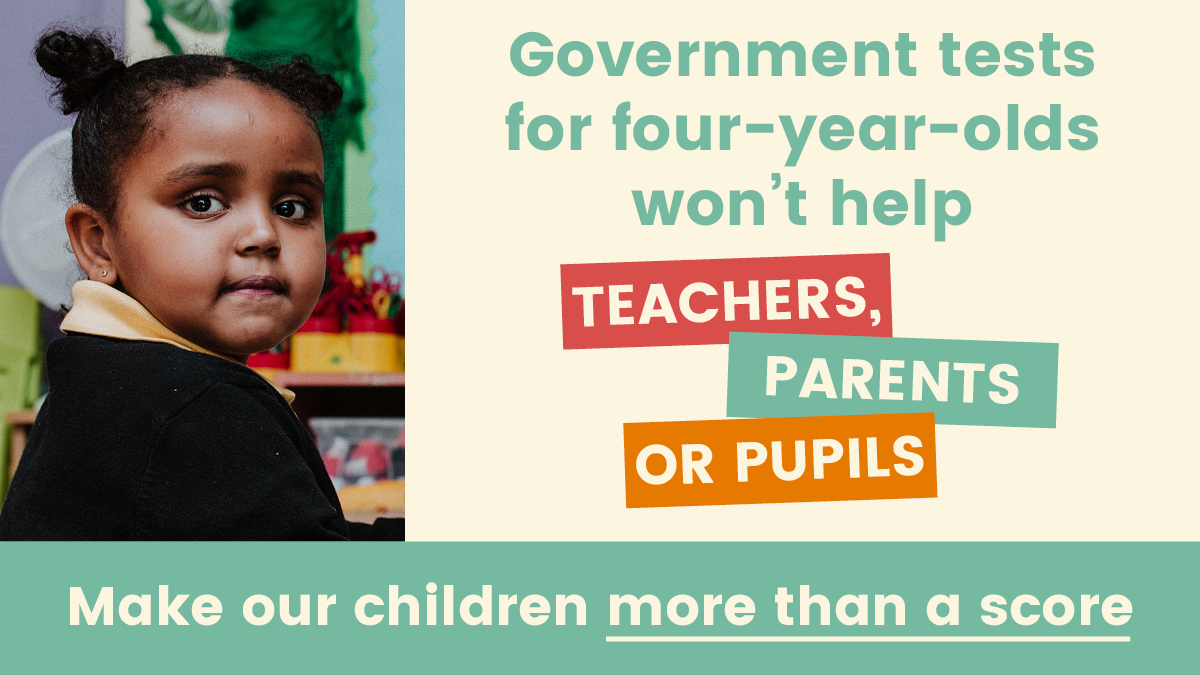 The government are condemning our children to a relentless programme of testing