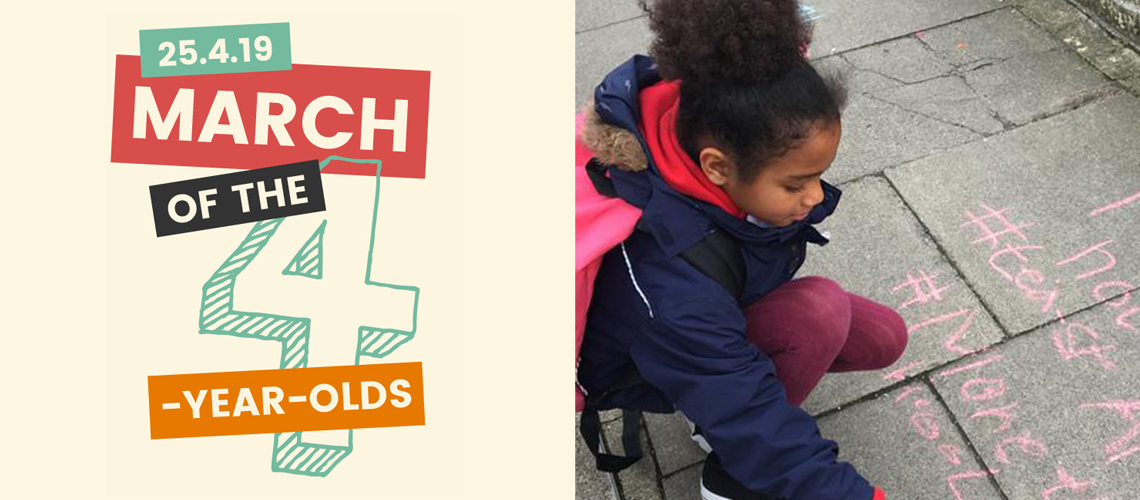 Join our March! It's time to stand up for 4-year-olds