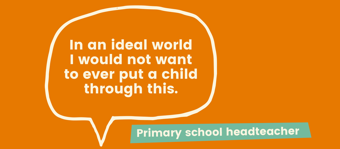 New research shows primary heads condemn the negative effects of SATs across all school years