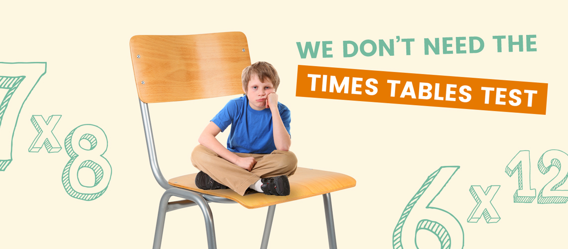 Try our times tables test