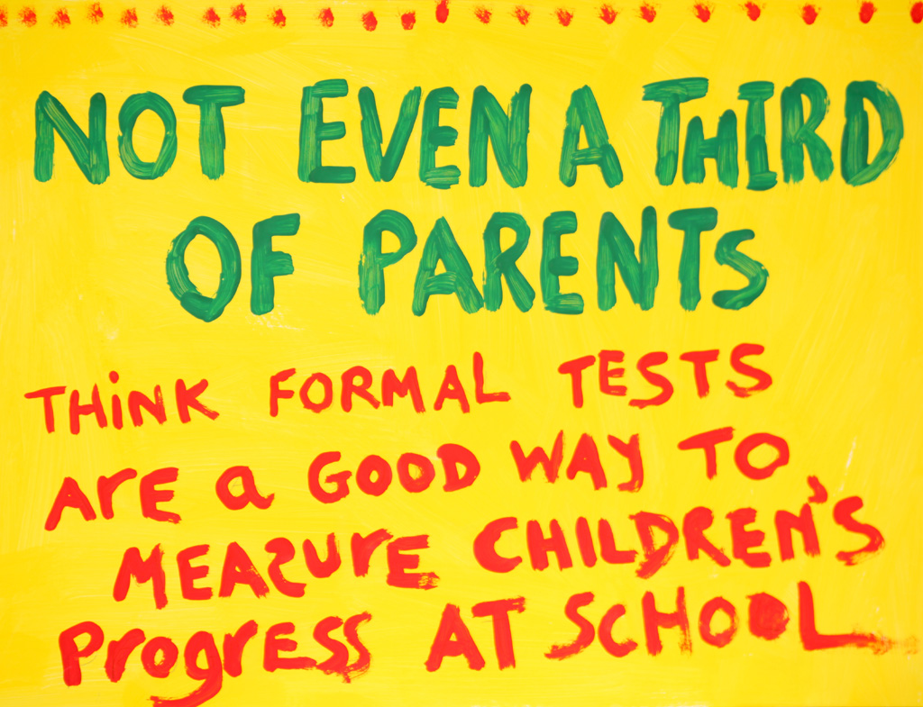 Too many tests for no good reason: parents stand against primary school testing